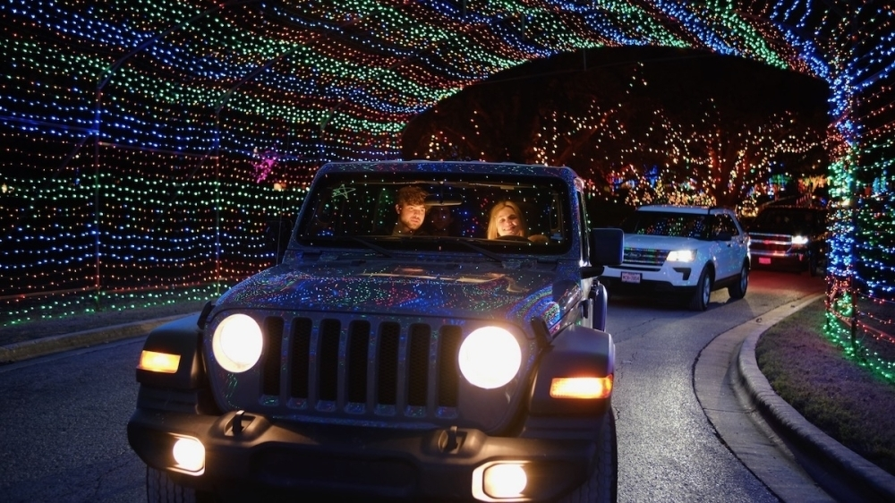The Austin Trail of Lights will welcome drive-thru visitors from Nov. 27-Dec. 31. (Courtesy Austin Trail of Lights)