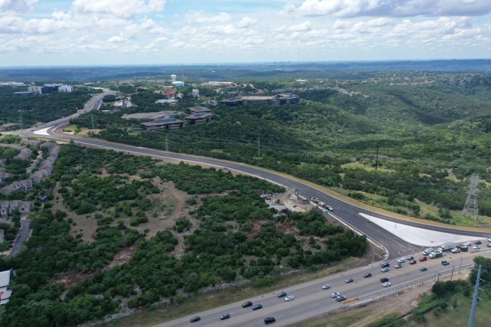 A road widening project is on track to finish this fall and a bypass connecting RM 2222 and RM 620 by early next year. (Courtesy Texas Department of Transportation)