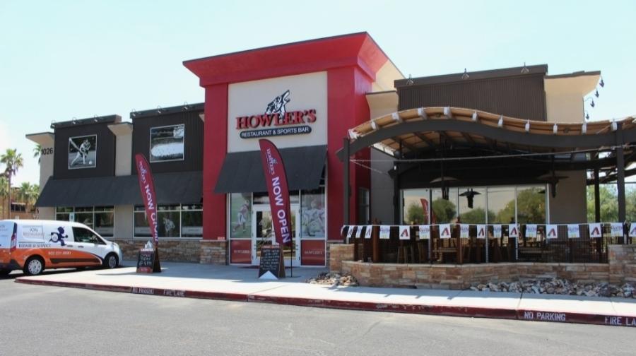 Howler's Restaurant & Sports Bar exterior