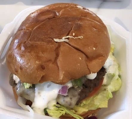 OMG! Burger is one option to grab a unique burger in Sugar Land. (Marie Leonard/Community Impact Newspaper)