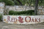 Red Oaks spans areas north and south of Little Elm Trail in Cedar Park. (Photos by Taylor Girtman/Community Impact Newspaper)