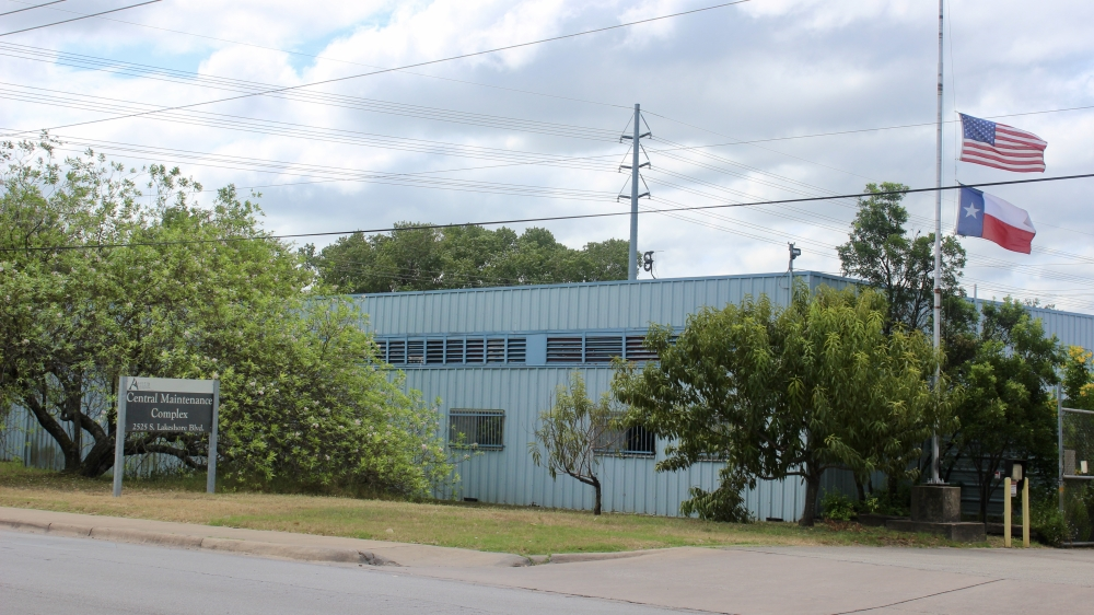 Austin could trade its Lakeshore Boulevard Parks and Recreation Department maintenance facility for other parkland if Proposition B is approved. (Ben Thompson/Community Impact Newspaper)