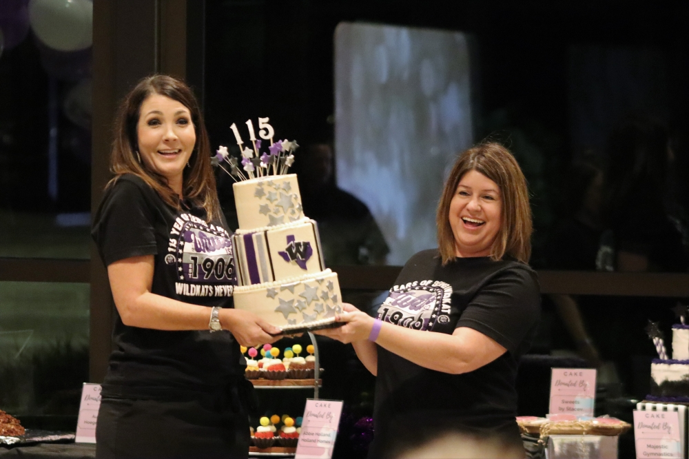 The Willis ISD Education Foundation hosted an event Sept. 18 celebrating the district's 115th birthday. (Courtesy Willis ISD Education Foundation)
