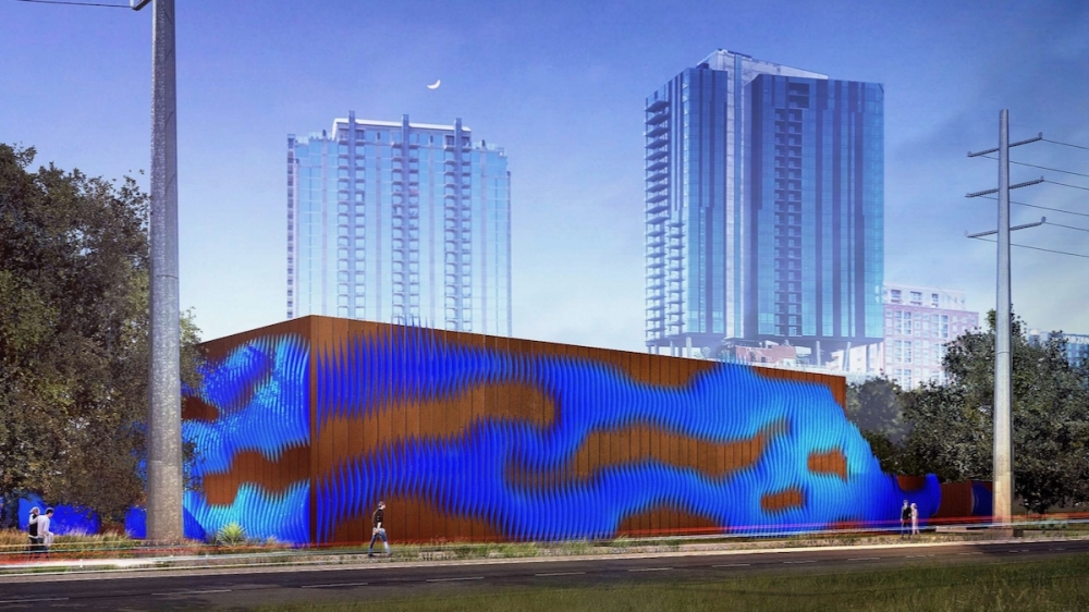 Austin Energy's Rainey Street Substation is scheduled to be completed in 2023. (Courtesy Austin Energy)