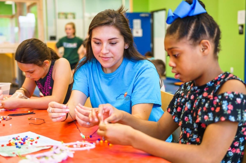 The facility offers education-based programming for children ages 6 weeks to 12 years old. (Courtesy Adventure Kids Playcare)