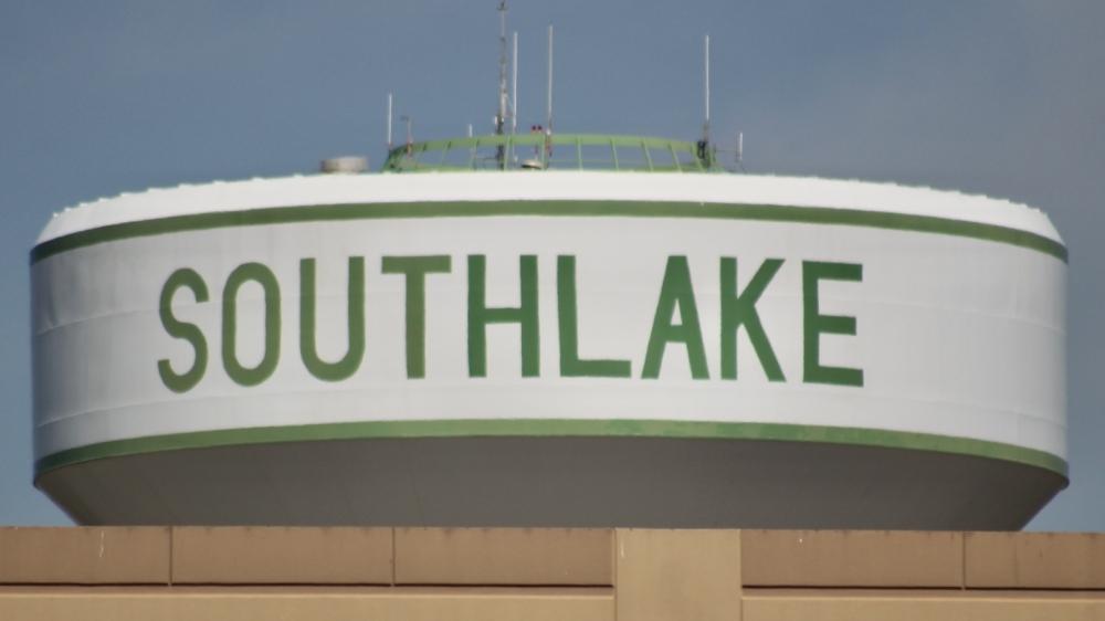 Southlake water tower