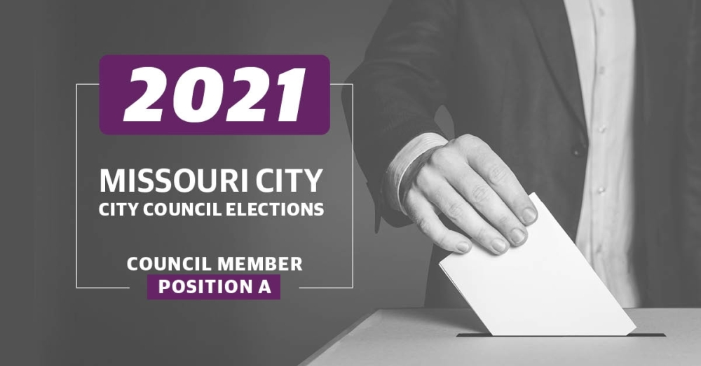 Missouri City residents in District A will vote for a new City Council member in the Nov. 2 election. (Graphic by Community Impact Newspaper staff)