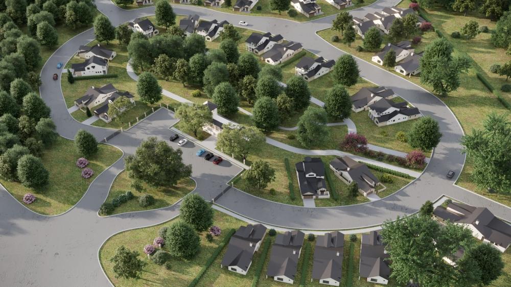 The community will offer 61 homes within the larger Veramendi development. (Courtesy Vista Alta del Veramendi)