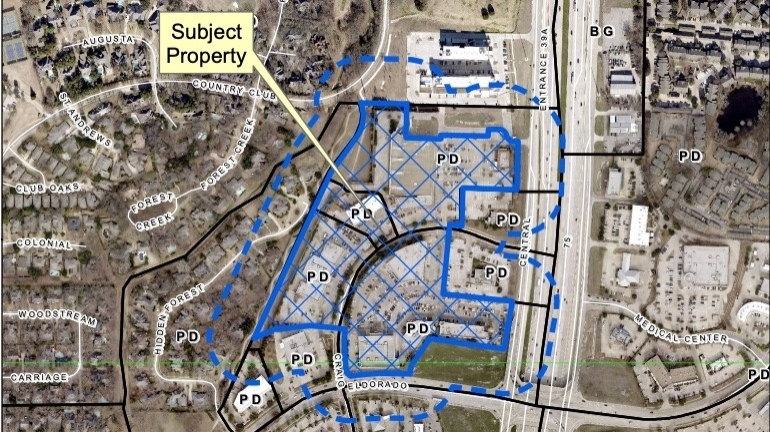Carter BloodCare is looking to open in the shopping center of Eldorado Parkway and South Central Expressway. (Courtesy city of McKinney)