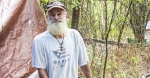 George, who declined to give his last name, said he could not remember if he has been homeless for 10 or 15 years. He is one of the 107 Hays County residents included in the count. (Eric Weilbacher/Community Impact Newspaper)