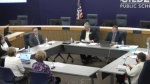 Gilbert Public Schools governing board at study session
