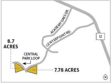 The city of San Marcos annexed two parcels of land Sept. 21 that will be used by the La Cima Housing development. (Source: City of San Marcos/Community Impact Newspaper)