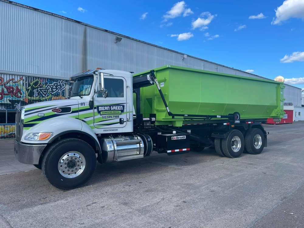 Mean Green Dumpster Rental and more businesses are coming to San Marcos, Buda and Kyle. (Courtesy Mean Green Dumpster Rental)