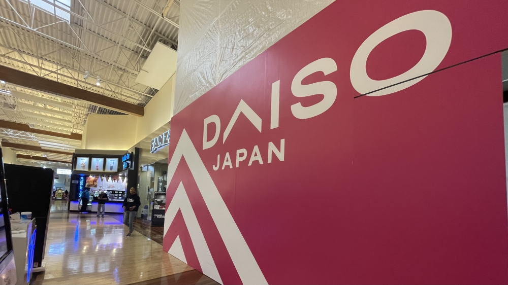 Daiso, a Japanese variety store, is coming soon to Grapevine Mills. (Sandra Sadek/Community Impact Newspaper)