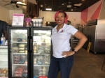 Tahira Christensen opened Scrumptious Houston in August 2020. She plans to open more locations across Texas. (Colleen Ferguson/Community Impact Newspaper)