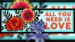 The mural approved for One Love Tattoos in Georgetown features flowers and is by artist Taylor  Nagel. (Courtesy One Love Tattoos)