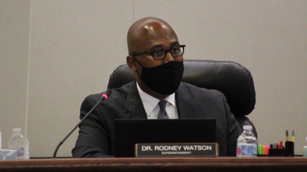 Spring ISD Superintendent Rodney Watson will be leaving the district in January. (Emily Lincke/Community Impact Newspaper)