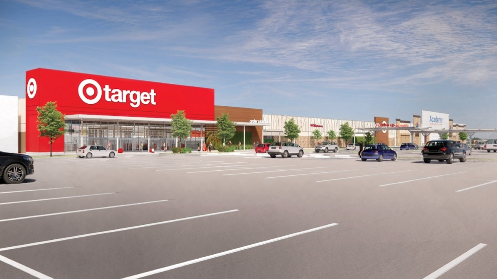 A new Target location will be opening soon at Valley Ranch Town Center in New Caney. (Rendering courtesy Valley Ranch Town Center)