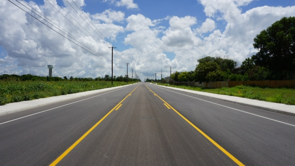Part of the city of New Braunfels 2013 bond program, the Morningside Drive Reconstruction project is on track to finish in December. (Courtesy city of New Braunfels)