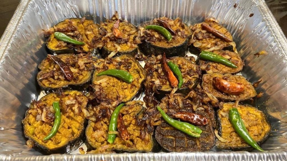 The menu features items such as beef tehari and mishti kumra. (Courtesy Rannaghar Food and Sweets)