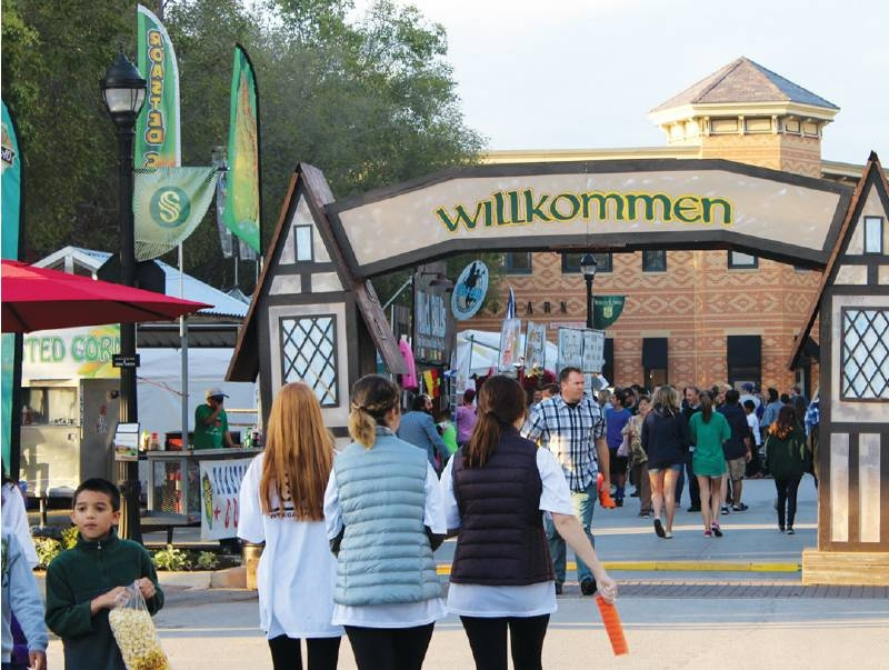 After the 2020 event was canceled due to the pandemic, Oktoberfest is returning to Southlake this weekend for its 20th anniversary. (Community Impact Newspaper file photo)