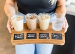 Lovebeans Coffeehouse offers a sampling of iced fall beverages. (Courtesy Lovebeans Coffeehouse)