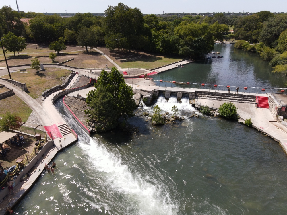 Due to heavy rains Oct. 13-14, the Comal River remains closed. (Community Impact Newspaper staff)