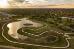 Phase 3A of Exploration Green, a 178-acre flood control project in the Clear Lake area, is now complete. (Courtesy Exploration Green Conservancy)