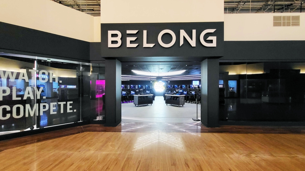 Belong Gaming Arenas opened its doors to its second U.S. gaming center in Grapevine Mills on Oct. 17. (Courtesy Belong Gaming Arenas)