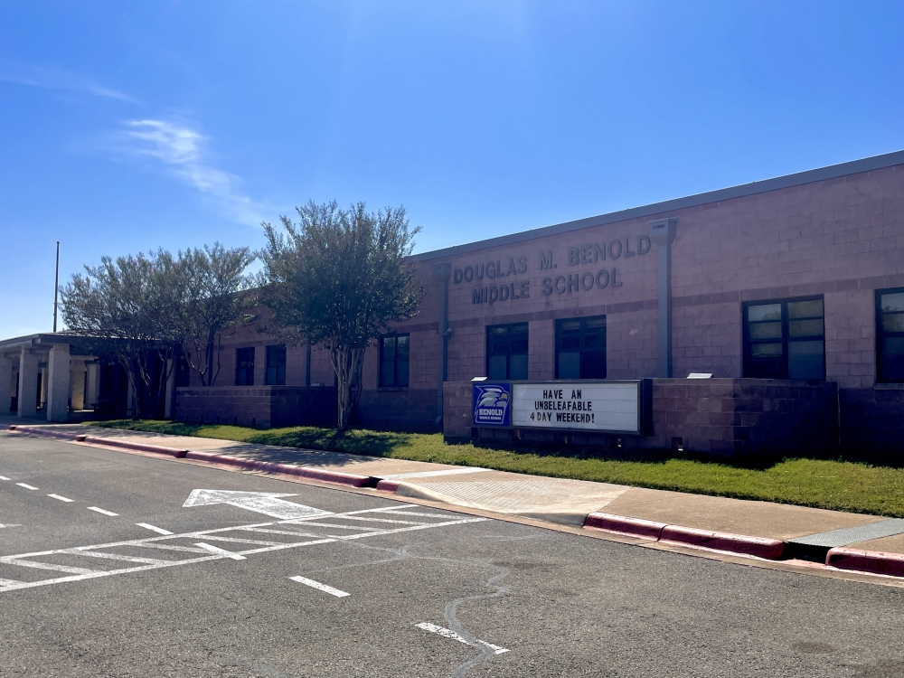 Proposition A of the Georgetown ISD bond package includes funding design work to repurpose Benold Middle School into an elementary school. (Eddie Harbour/Community Impact Newspaper)