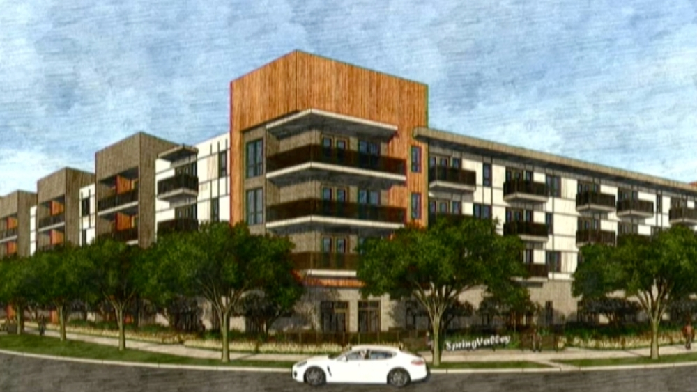 Sherman Lofts will include 299 traditional units as well as three live-work apartments and a 932-square-foot coworking space that will be open to the public. (Courtesy city of Richardson)