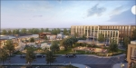 Rendering of the Hamptons development.
