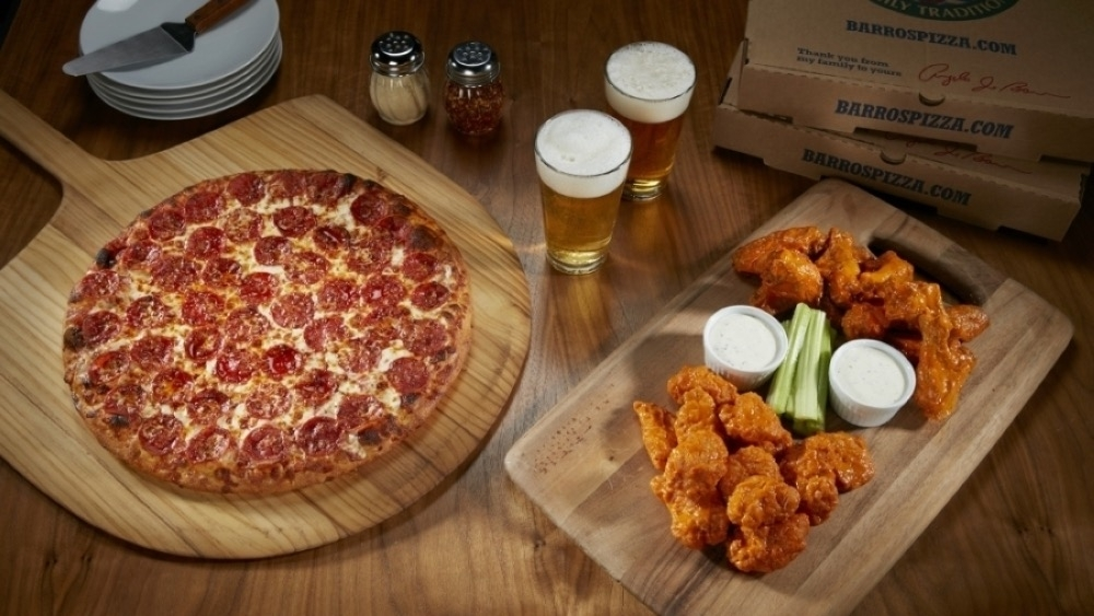 Pizza and wings will be offered at Barro's Pizza when the restaurant opens in McKinney this fall. (Courtesy Barro's Pizza)