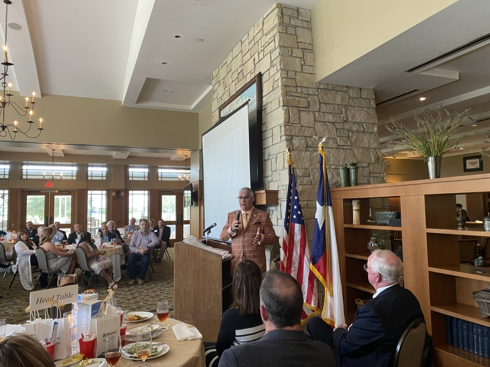 Huberty will retire at the end of his fifth term in the Texas House of Representatives, where he introduced bills focused on public education reform. (Brooke Ontiveros/Community Impact Newspaper)