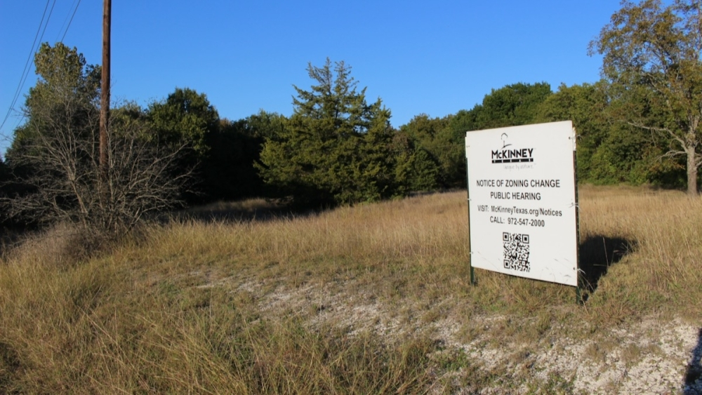 McKinney City Council took action on a request to annex and zone about 54 acres in McKinney. (Miranda Jaimes/Community Impact Newspaper)