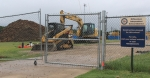The first phase of construction at J.J. Pearce High School in Richardson is still underway. (Courtesy Nate Jarnagin)
