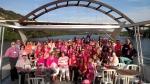 Chamber revelers at 2017 Floating Flamingo Boat Cruise. (Courtesy of Westlake Chamber of Commerce)