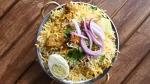bowl of Chicken Dum Biryani