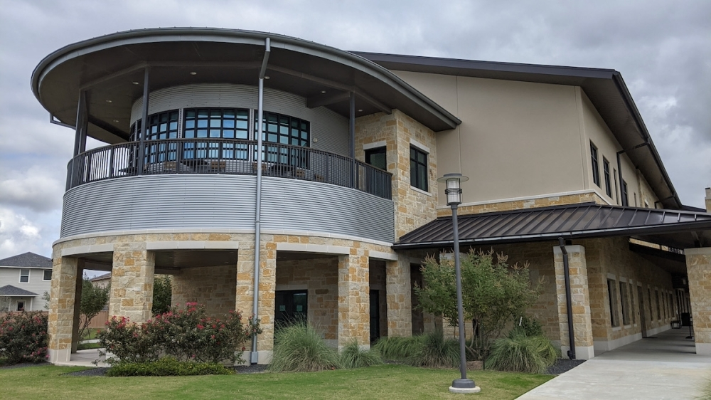 Throughout the month of November, Hutto Public Library will accept donations to benefit the Hutto Resource Center. (Carson Ganong/Community Impact Newspaper)