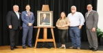 CISD board President Skeeter Hubert and Superintendent Curtis Null spoke about the significance of the new school during the ceremony before Ruben W. Hope III addressed the audience and shared stories about his father.(Courtesy Conroe ISD)