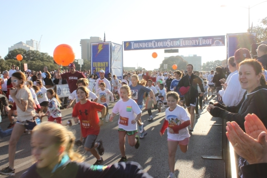 The Turkey Trot is returning in person after a virtual year. (Courtesy ThunderCloud Subs)