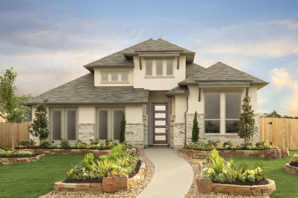 Coventry Homes will build 200 homes in the Escondido development in Magnolia. (Rendering courtesy Coventry Homes)