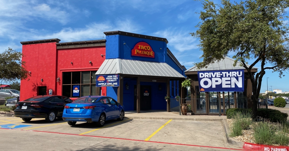 Taco Palenque is now open as drive-thru only in Round Rock. (Brooke Sjoberg/Community Impact Newspaper)