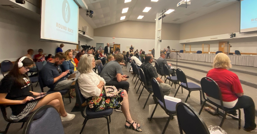 Some of these projects have been previously accounted for under the 2018 bond plan, while others were recommended by district staff. (Brooke Sjoberg/Community Impact Newspaper)