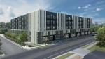 Cumby Group is planning development for three adjacent multifamily projects on Manor Road in East Austin, including The Emma apartments. (Courtesy Cumby Group)
