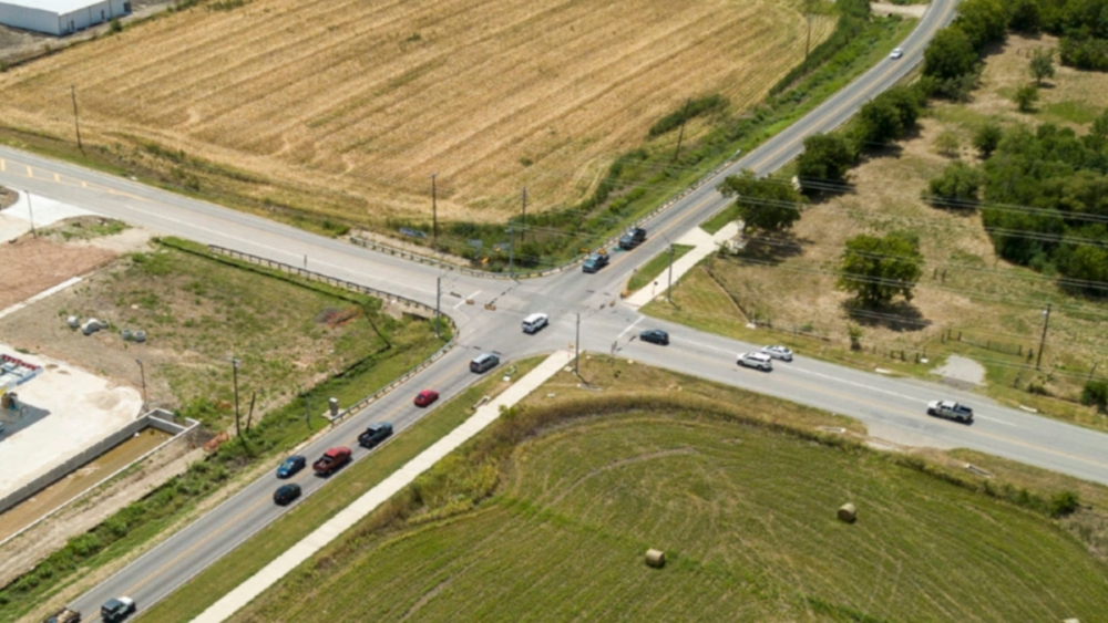 FM 1660 and Limmer Loop will receive several new through lanes and dedicated turn lanes. (Courtesy city of Hutto)