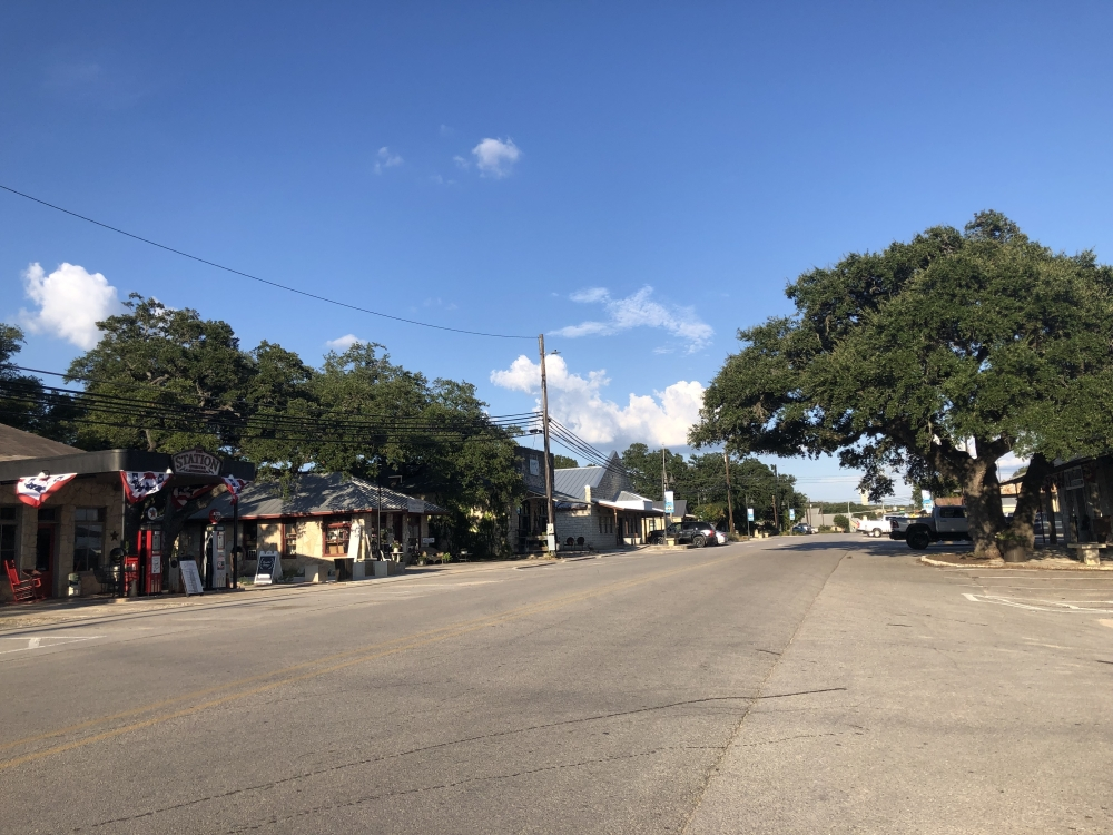 The newly approved transportation masterplan for Dripping Springs will add several minor arterial roads around downtown. (Maggie Quinlan/Community Impact Newspaper)