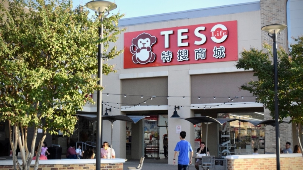 Teso Life currently has a location in Carrollton near another 99 Ranch Market and other Asian businesses and restaurants. (Matt Payne/Community Impact Newspaper)