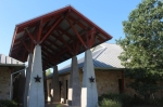 The Leander Public Library is located at 1011 S. Bagdad Road, Leander. (Community Impact Newspaper staff)