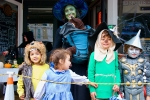 Hometown Halloween in downtown Round Rock has trick-or-treating, face painting, live music and balloon artists. (Photo courtesy city of Round Rock)